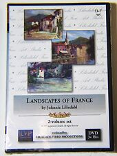 Johnnie Liliedahl: Landscapes of France - Art Instruction DVD