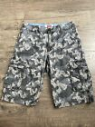 Levis boys camo cargo shorts size 16 reg