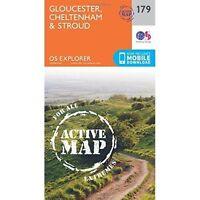 Gloucester, Cheltenham and Stroud by Ordnance Survey (Sheet map, folded, 2015)