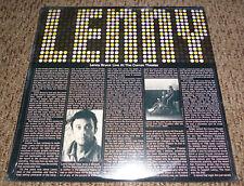 LENNY BRUCE Live at Curran Theatre 3 LP Vinyl Record Album FACTORY SEALED 1971