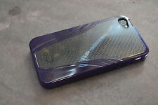 iSkin Solo Vu Purple Case For iPhone 4G Mint 5E