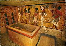CPM EGYPTE Vallée des Rois: Sarcophage dans la tombe de Tutankhamon (344008)