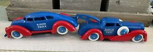 "Ultra Rare  Disney Pride Lines Manoil  ""D Duck Taxi""  Tow Truck Super Scarce!!!!"