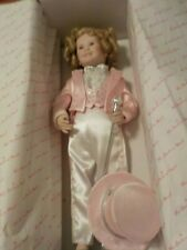 """BEAUTIFUL 1991 """"DIMPLES"""" THE SHIRLEY TEMPLE COLLECTOR DOLL BY DANBURY MINT"""