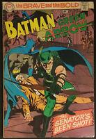 The Brave And The Bold #85 VF- 7.5 Batman & Green Arrow 1969 Neal Adams Cvr/Art!