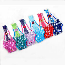 1X Puppy Diaper Underwear Sanitary Pants Suspender Stay On Small Dog Washable