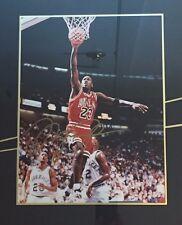 Michael Jordan Gold Signature Autograph Framed