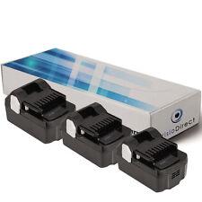 Lot de 3 batteries 18V 3000mAh pour Hitachi N18DSL - Société Française -