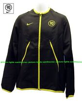 New Nike TOTAL 90 FOOTBALL Tracksuit Jacket Black  and Yelow Adults XL