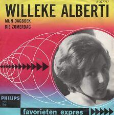 7inch WILLEKE ALBERTImijn dagboek - favorieten expresHOLLAND EX (S2298)