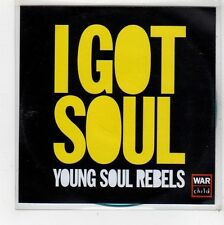 (FU738) Young Soul Rebels, I Got Soul - DJ CD
