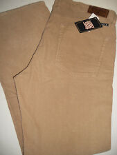 NWT 32 x 32 LUCKY JEANS BRAND 361 Vintage Straight Corduroy Sand Pants
