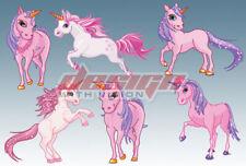 Unicorn Bedroom wall / toy box stickers Vinyl Baby Nursery Childrens Girls horse
