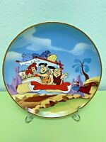 The Flintstones Collectors Plate Franklin Mint New Condition Fred Flintstone