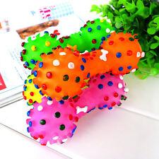 1PCS Haustier Spielzeug-Gummikugel mit stichhaltigem Squeaker, der Ball kocht