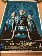 Mike Saputo STAR TREK THE MENAGERIE Poster Limited Edition MONDO Print