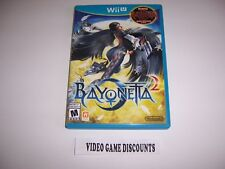 Original Box Case for Nintendo Wiiu Wii U Bayonetta 2 Two
