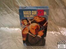Naked Gun 33 1/3 The Final Insult VHS Leslie Nielsen Pricilla Presley
