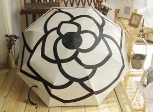 Women Automatic Rain Umbrella Luxury Brands Folding UV Sun Transparent Sunshade