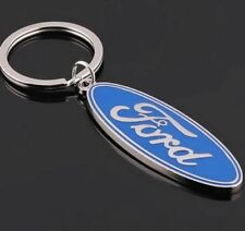 Auto Car Logo Titanium Keyring Keychain Key Chain Ring Metal Keyring For Ford