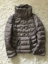 "Genuine!!! Moncler Kelly Down Jacket 1 S 18""ptp RRP £ 795 Lilac Shimmer Angers Bady"