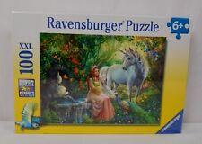 Ravensburger Princess and Unicorn Puzzle 100 Piece NEW Factory Sealed