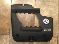 VW 98-05 BEETLE Jetta Golf 2.0 Engine Cover 06A 103 925 AD Blue VW Logo Early