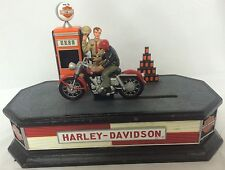 Harley-Davidson Franklin Mint 2002 Sportster Motorcycle Pump Mechanical Bank