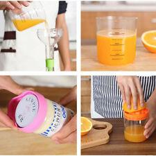 8 In 1 Multi Kitchen Tool Set Funnel Squeezer Egg Separator Opener Grater Jug