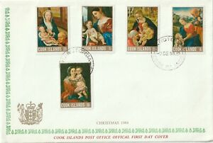 1968 Cook Islands FDC cover Christmas