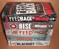 The Newsflesh Trilogy + Novel + Short Stories Complete Set by Mira Grant