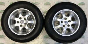 """TEC Caravan alloy wheels; 14"""", 5 stud"""