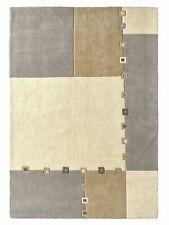 Hochflorteppich 190/290 cm grau/taupe