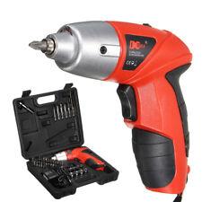 45Pcs 4.8V Rechargeable Electric Cordless Screwdriver Drill Driver Set Drill bit