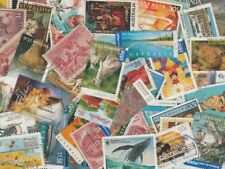 COLLECTION OF 200 AUSTRALIAN STAMPS, ALL DIFFERENT, USED.NO SMALL DEFINITIVES