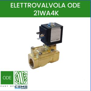 elettrovalvola acqua aria ode normalmente chiusa 21WA4K0B130 1/2 12V 24V 220V
