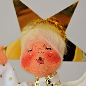 VINTAGE 1976 ANNALEE ANGEL TREE TOPPER