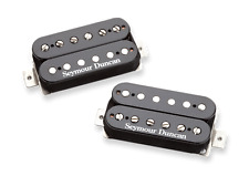 New Seymour Duncan Distortion Mayhem Humbucker SH6 Set- SH-6b & SH-6n - black