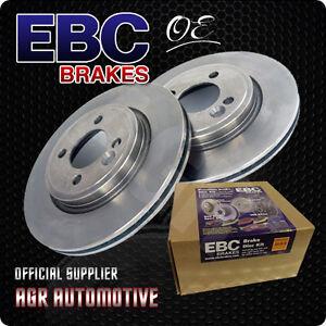 EBC OE REAR DISCS D891 FOR MERCEDES-BENZ E-CLASS SALOON E200 K 163 BHP 2000-03
