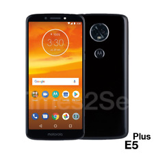 "Motorola Moto E5 Plus 6.0"" HD 32GB 3GB RAM GSM Unlocked Android Black Phone New"