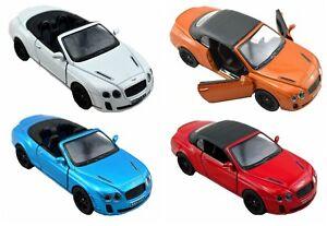 1 X DIE CAST 2010 BENTLEY 13CM car gift model replica racing play toy christmas