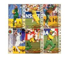 AUSTRALIA CRICKET 1995-96 Futera Cricket Card COMMON base Set 110 CARDS
