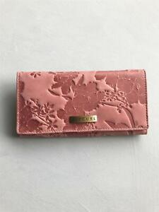 Rip Curl NALU C'BOOK LEATHER Wallet Purse New - LWLDN1 Dusty Rose Rrp $79.99