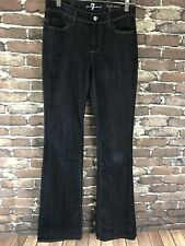 7 For All Mankind Jeans Womens Size 25 X 33.5 High Waist Boot Dark Wash Boot Cut