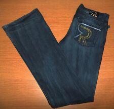 ROCK & REPUBLIC Bling Kasandra Stretch Boot Cut Jeans Size 28