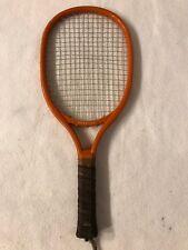 Vintage 1970's Leach Racquetball Racket Bandido - Orange