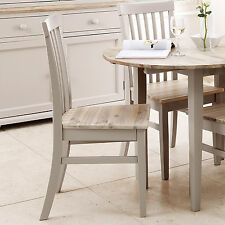 Florence High back chair, Quality Truffle kitchen dining chair with wooden seat