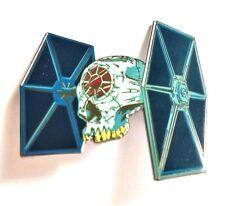 Tie Fighter Death Skull Jumbo Star Wars Fantasy Hat Jacket Tie Tack Lapel Pin