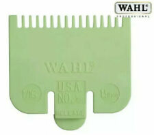 """Wahl Standard Fitting Hair Clipper Attachment Comb No 1/2 1.5mm Green lime 1/16"""""""