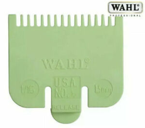 Wahl Clipper Guard Attachment Comb Lime ½ (0.5 - 1.5mm) **BEWARE OF FAKES**